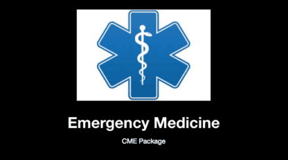 Emergency Medicine EOR Blueprint, Emergency Medicine CME, Emergency Medicine CME Package, CME with Gift Card, PANCE, PANRE, USMLE, PANCE Review Course, PANRE Review Course, Nurse Practitioner, Physician Assistant