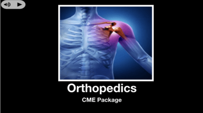 Orthopedics CME Package with Amazon and Apple Gift Cards